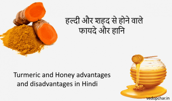 Turmeric and Honey advantages and disadvantages in Hindi