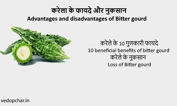 Bitter gourd(करेले)के फायदे और नुकसान