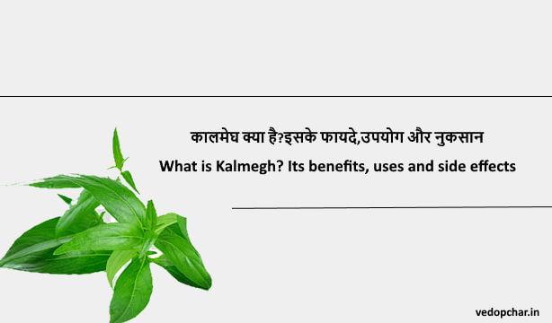 kalmegh in hindi